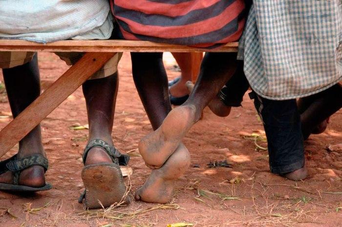 Oeganda-straatkinderen