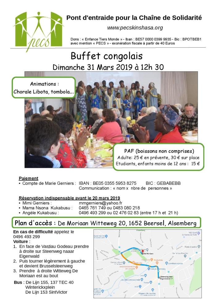 Buffet Congolais PECS